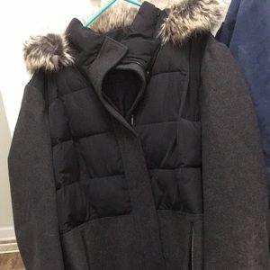 Lands end long winter coat 3xl